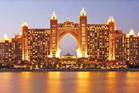 Emirates Holidays - Three night Atlantis, the Palm Dubai escape with meals - Save 0%