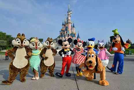 Crystal Travel - Two, three or four night Disneyland Paris stay with flights and one day two park entry - Save 30%