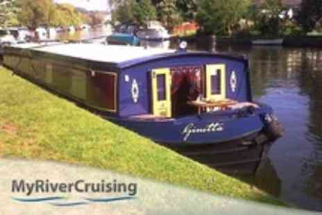 Myrivercruising.com - Two Hour Thames River Cruise With Cream Tea and Bubbly For Four - Save 56%