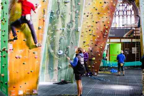 Undercover Rock - Climbing Package with Lifetime Membership - Save 55%