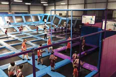 Jump Nation - All Inclusive Trampoline Park Party Package for Ten - Save 29%