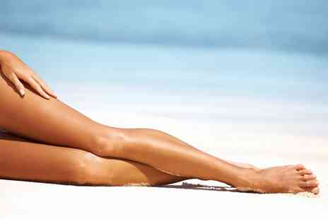 The Clinics - Full Leg Waxing with Optional Standard Bikini Line, or Choice of Three Areas - Save 59%