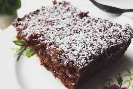 Greendays Cafe - Vegan Brownie and Milkshake for Two or Four - Save 0%
