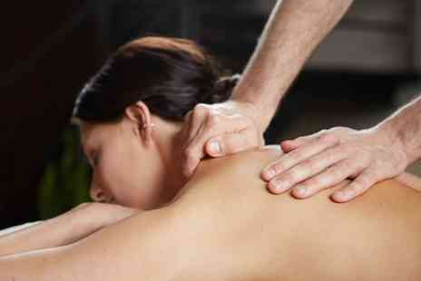 Fusion Life - 30 Minute Back Massage or 45 Minute Deep Tissue Back and Leg Massage - Save 40%