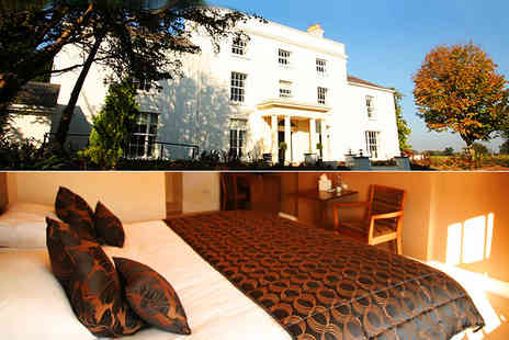 Fishmore Hall Hotel - Two night B&B break for two includes a glass of champagne each on arrival - Save 69%