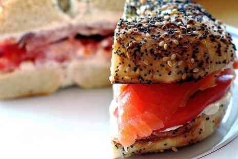 Bagel Break - Bagel and Coffee for Two or Four - Save 44%