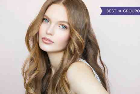 House of Glamour - Wash, Cut and Blow Dry with Optional T Bar Highlights - Save 49%
