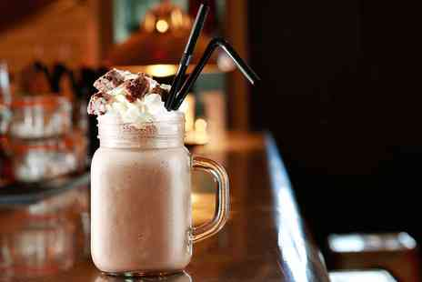 Creme Cafe & Dessert Parlour - Large Chocolate Bar Milkshake for Two - Save 37%
