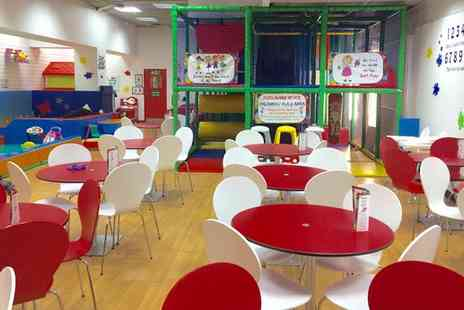 TeaTots - Play Area Entry for Family of Four with Optional Food and Drink - Save 39%