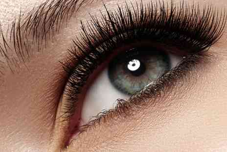 KC s Unisex Salon - Full Set of Semi Permanent Eyelash Extensions and Undereye Treatment - Save 0%