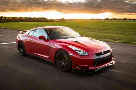 Drift Limits - 14 Lap Nissan GTR Experience for One or Two - Save 58%
