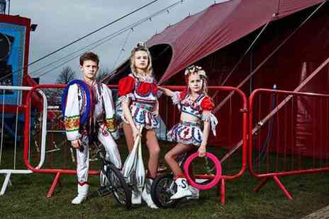 Planet Circus - Ticket to Kids World on 16 September in Sheffield - Save 0%