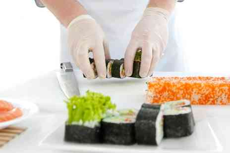 London Cookery School - Sushi Making Class with Refreshments for One or Two - Save 64%