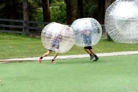 bubble football north east - One Hour of Bubble Football for Up to 10 People - Save 0%