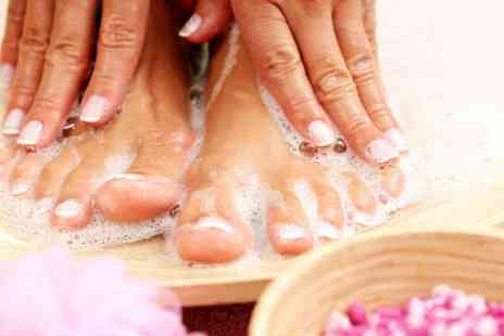 The Glamour Lounge - Gel Manicure or Pedicure or Both - Save 38%