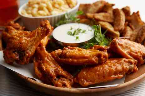 Semedos - 10 or 20 Wing Platter with Large Sides for Two or Four - Save 34%