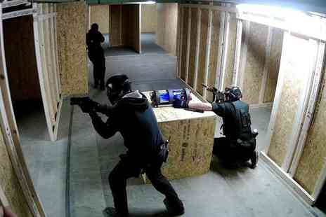 Grange Live Gaming - Four Hours of Airsoft Play with Pellets for One, Two or Four - Save 0%