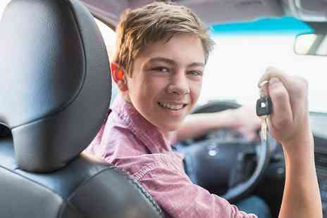 Solihull Driving School - Teen 60 Minute Driving Lesson and 30 Minute Control Session - Save 59%