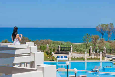 Chryssana Beach Hotel - Three Star Relaxation in Picturesque Cretan Bay For Two - Save 54%