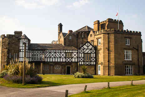 Leasowe Castle - Four Sar 16th Century Castle overlooking Leasowe Golf Course For Two - Save 64%