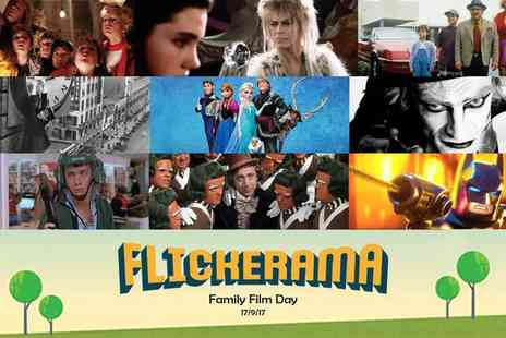 Flickerama - Child, adult or family ticket to the Flickerama Film Festival on 17th September 2017 - Save 55%