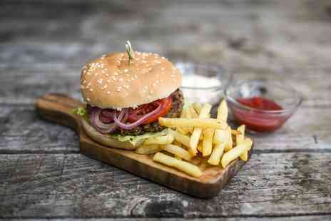 Liberte - Two comedy club night tickets including a burger and choice of side each - Save 75%