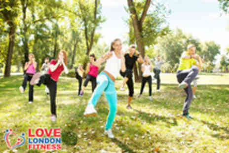 Love London Fitness - 4 weeks of fitness classes - Save 78%