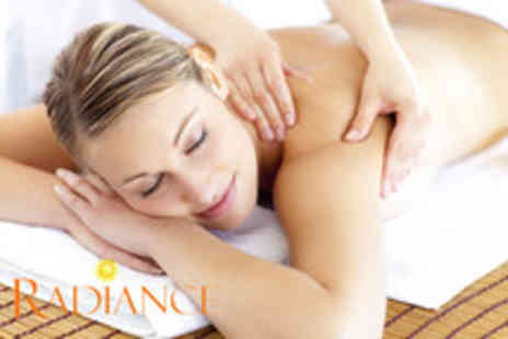 Radiance Health & Beauty - Dermalogica facial and aromatherapy back, neck & shoulder massage - Save 66%