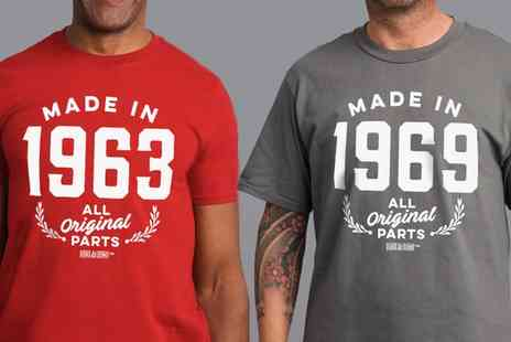 Groupon Goods Global GmbH - Mens Built in the 60s T Shirts - Save 47%