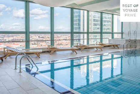 Panorama Hotel Prague - Four Star Panoramic City Views For Two from Top Floor Spa - Save 74%
