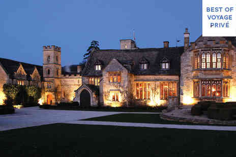 Ellenborough Park - Five Star 16th Century Award Winning Luxury Estate Stay For Two - Save 23%