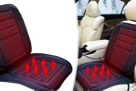 eFindbest - Heated Car Seat Cushion With Two Settings - Save 54%