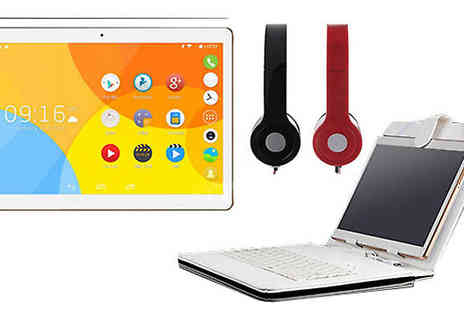 J & Y - 10.1 Inch Google Android Tablet Optional Extras - Save 78%