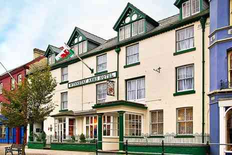 Wynnstay Arms Hotel - Mid Wales coaching inn stay with dinner - Save 40%