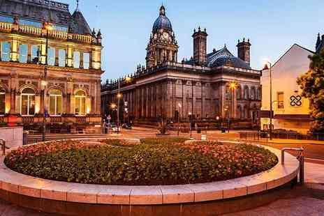 OMGhotels - Three Star Leeds stay with breakfast and two course dinner - Save 0%