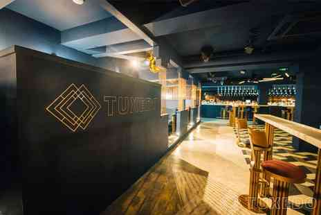 Tuxedo Glasgow - Entry for up to four people with a glass of Prosecco each and nibbles - Save 70%