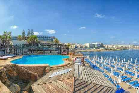 Super Escapes Travel - Seven night 4 Star half board Malta break including flights and sea view upgrade - Save 25%