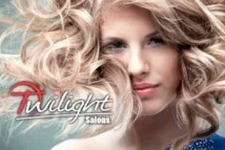Twilight Salons - Half Head of Highlights, Cut, and Blow Dry - Save 61%