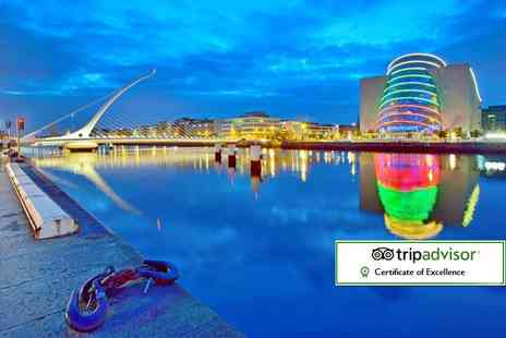 Tour Center - Two or three night Dublin break including flights and tickets to the Guinness Storehouse tour - Save 33%