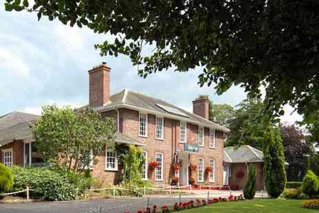 The Gables Hotel - One or two night stay for two with two course dinner, breakfast and late check out - Save 58%