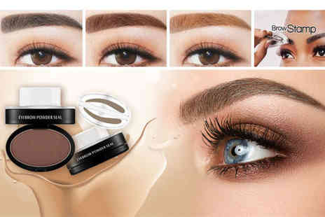 Alvis Fashion - Eyebrow stamp and powder set - Save 82%