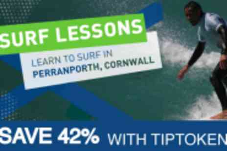Ticket to Ride - Full Day of Surf School - Save 42%