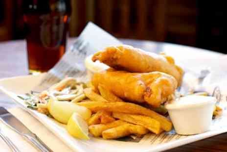 Blue Eyed Maid - Fish and Chips with Prosecco, Wine or Beer for One or Two - Save 62%