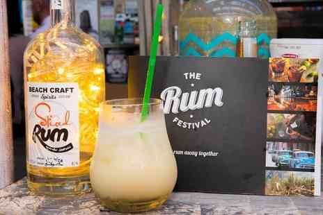 The Rum Festival - The Rum Festival, General Admission Ticket and Cocktail on 15 to 16 September - Save 55%