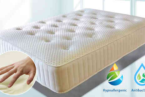 The Sleep People - 4000 Memory Foam and Pocket Sprung Mattress in 6 Sizes - Save 88%