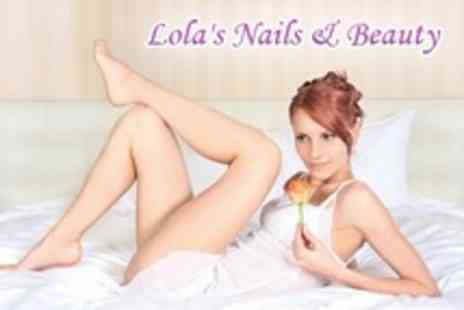 Lolas Nails & Beauty - Half Leg Wax Plus Bikini or Brazilian Wax - Save 59%