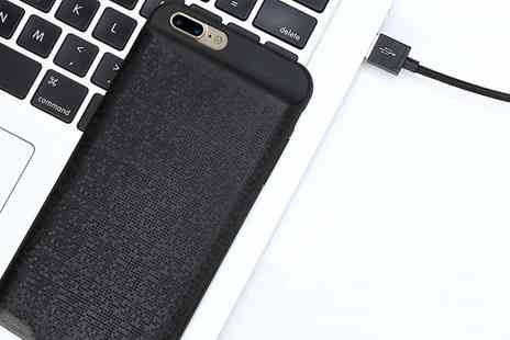 Groupon Goods Global GmbH - Apachie Power Case for iPhone in Choice of Colour - Save 50%