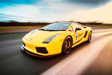 Drift Limits - 14 Lap Lamborghini Gallardo Driving Experience for One or Two - Save 58%