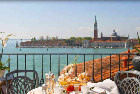 Hotel Metropole Venice - Five Star Eclectic Design Overlooking the Lagoon Stay For Two - Save 73%