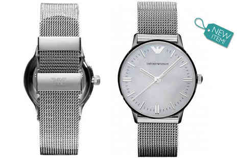 Class Watches - Mens Emporio Armani watch choose from two styles - Save 63%
